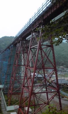 餘部鉄橋近景