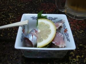 2009_05_01_日向_寿司勝_アジ酢の物