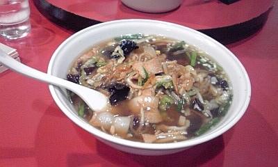 2012_10_18_宴華_肉野菜炒めあんかけ麺