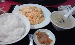 2012_11_07_大井町_華宴_アサリと卵炒め