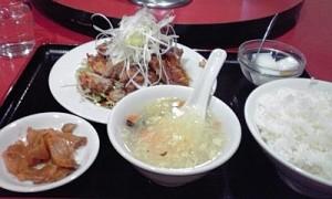2012_1206_大井町_華宴_鶏揚げ物の特製ソースかけ
