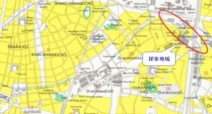 大井町_米軍地図