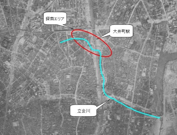 大井町_陸軍航空写真