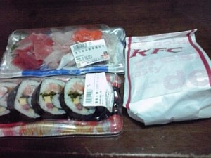 2013_07_20_夕食_KFC