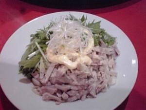 2013_08_14_大井町_華宴_特製マヨネーズ入り冷麺