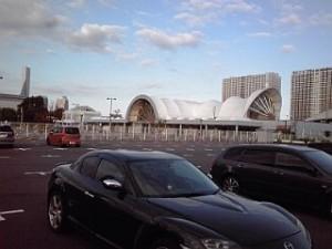 2013_10_13_国際展示場_駐車場1