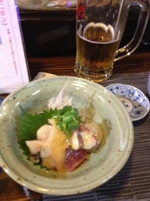 2013_11_03_石垣市_寿司たろう_地魚の酢味噌和え.jpg