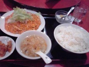 2014_11_24_01_大井町_華宴_芝エビと卵の辛味炒め
