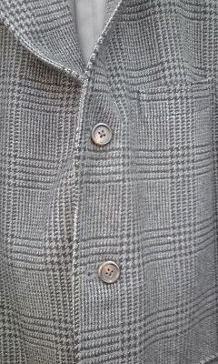 2015_03_22_03_KENT_ツイード_グレンチェックジャケット_三つボタン段返り